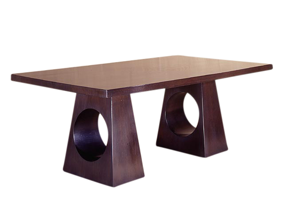 Modern Double Base Dining Table Emanuel Morez